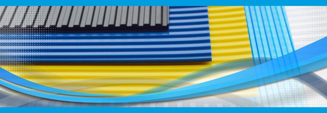 Aufhängungssysteme für PVC Streifenvorhänge
