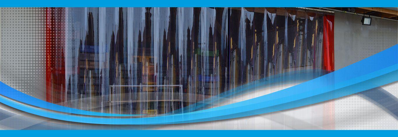 PVC Streifenvorhänge für Industrie