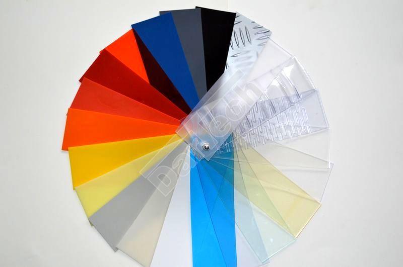 Farben von PVC Schutzplatten