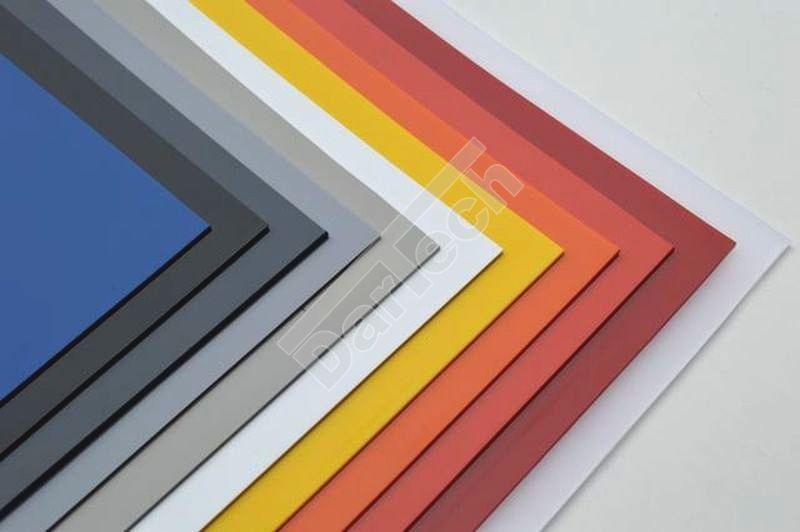 Farbige PVC Platten für Industrie