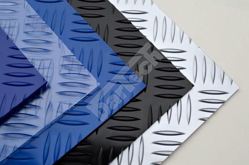 Farbige, tropfengemusterte PVC Platten für Industrie