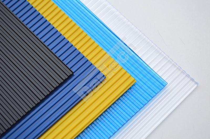 Gerippte PVC Platten für Industrie