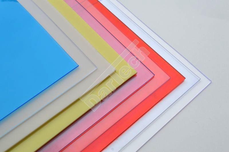Tischbeschützer aus PVC Platten