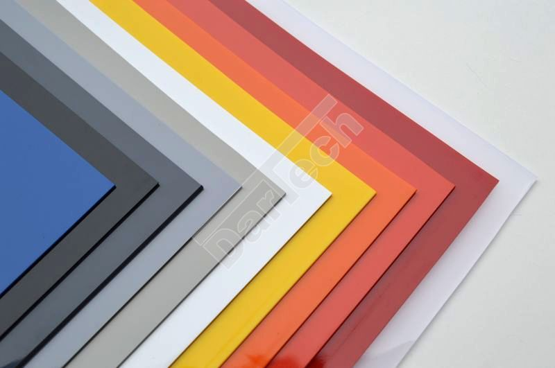 Undurchsichtliche PVC Platten