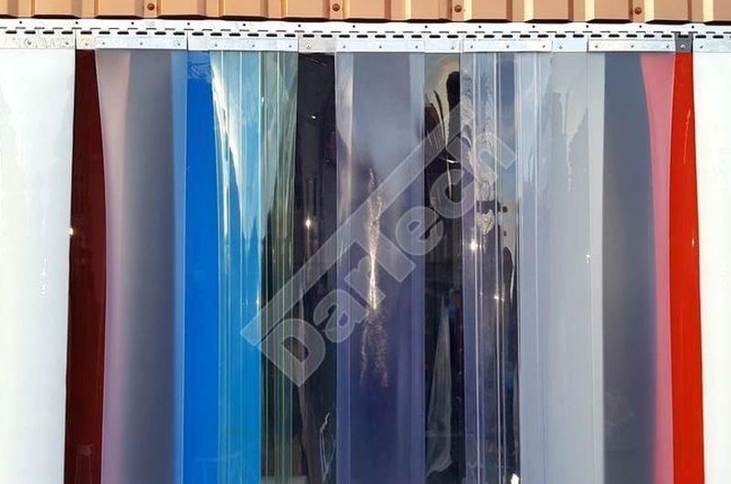 Farbige PVC Streifenvorhänge für Industrie