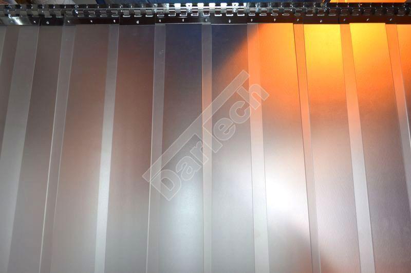 PVC Streifenvorhang, glasklar