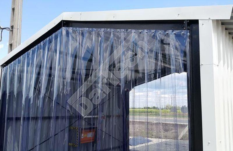 PVC Streifenvorhang