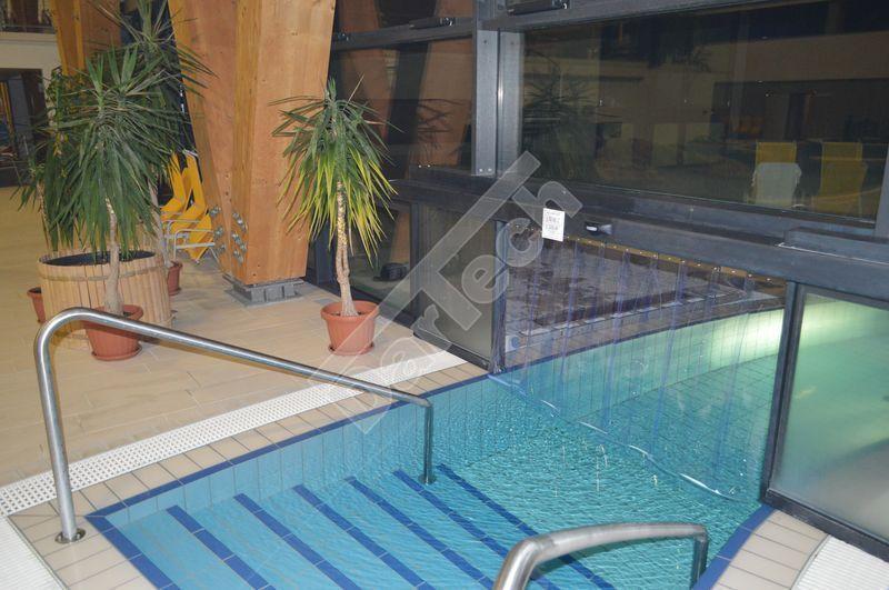 Thermovorhang am Schwimmbecken